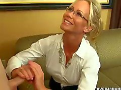 Milf Brille Pov Blonde Brille