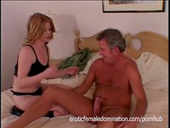 Older Man Dominated By His Wife