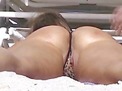 Exhibitionist Wife #42 Husband Dares Heather Silk On Miami Beach!