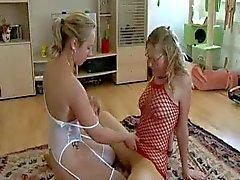 Lesbians Use Strap-on