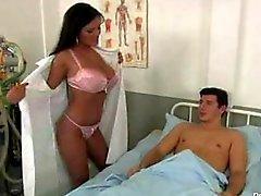 Jasmine Black Plays Naughty Doctor