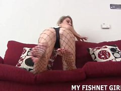 Rub your cock on my soft body stocking JOI