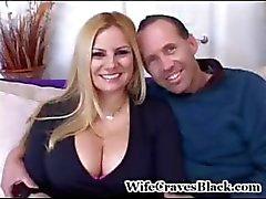 Geeft zijn vrouw de grote Dick Dat ze hunkert