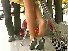 Amazing Legs Tan Pantyhose