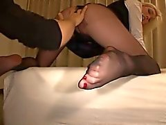 Pantyhose bang