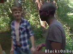 Kolton Ray funziona su una grandi gallo nero