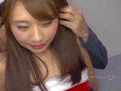 41Ticket - Japanese Babe Nene Kinoshita Fucked in Santa Costume (Subtitled)