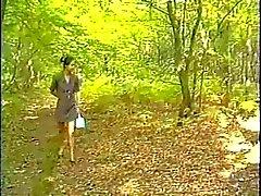 Anale asiatiques française en forêt