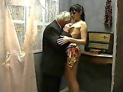 Dede , Yaşlı ile Kız