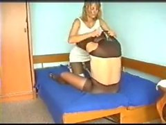Couple in hot encasement sex 1