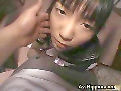 Hina Sakura söpö todellinen Aasian malli pelaa