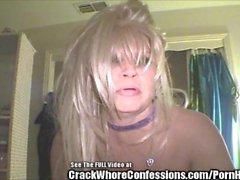 Crack Horan queen blondin Suga samt Butt Fuck!