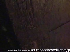 att filma Flickor som går wild om South badstrand