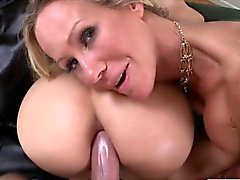 Hot Stepmom Simones surprise threesome