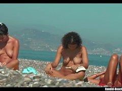 Sexy Nudist Babes at the Beach Voyeur Spycam HD 02