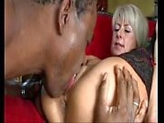Cathy E Hungarian milf fucks African mature guy
