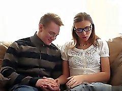 Busty slut spanking hard