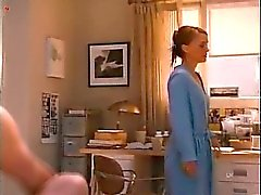 Natalie Portman in a pair of panties and a lacy bra as she