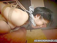 The fine art of Japanese bondage in action
