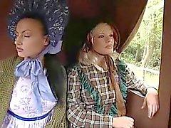 Wild West Scene Lesbisch