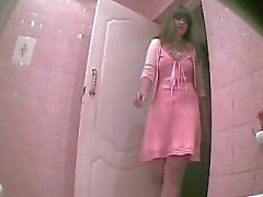 Hidden cam in toilet - 3