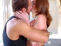 Milf Silvia Sage has the poolboy fuck her