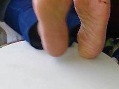 Reizvolles Ältere feet
