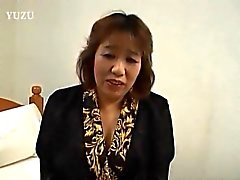 Kiriko naughty Asian mature enjoys a vibrator