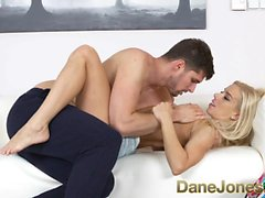 Dane Jones Orgasm for cute blonde in romantic breakup sex