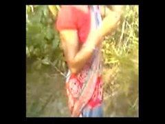 Indian Bhabi Hardcore sex with Neighbor Uncle on Open Filed on adultstube