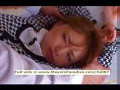 Akiho Yoshizawa innocence fille asiatique devient moule lécher