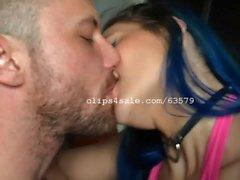 Sergeant Miles and Kiki Sweet Kissing Video 1