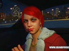 Grand Fuck Auto First Person Prostitute Pickup