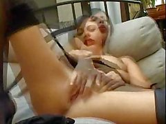 Gorgeous girl masturbating in front of camera