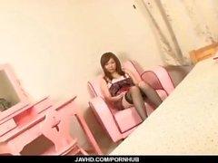 Tatlı hizmetçi, Aoi Mizumori, iki lezzetli horoz memnun