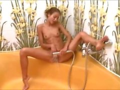 croatian babe Natasha in the hot shower