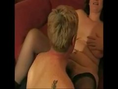Swedish homemade big tits milf fuck young stud