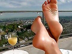 Liz Valery hot foot fetish sex