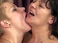 Granny and Milf Tongue and Finger