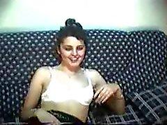 Türk cift kanepede
