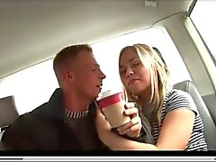 German Blonde Fucked In Auto Backseat,By Blondelover.