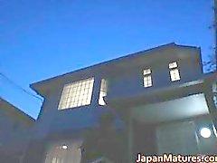Bebés madurez japonés cachondas chupando parte 3