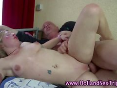 Amsterdam real whore gets rammed