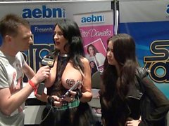 PornhubTV with Rita Daniels at eXXXotica 2013