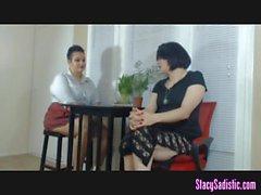 Lesbian Schoolmarm