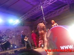 Hot Orgy with Rob diesel and girls