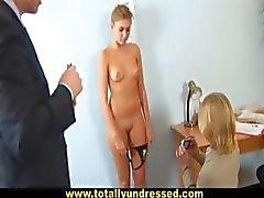 Hot secretary passes special job interview