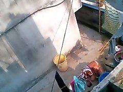 bengalischer Mutter Bade