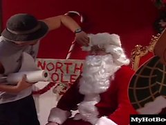 What goes on at the North Pole when Santa is napping Did you