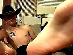 Bögen cock Cowboy vänner i Ty och Lee aldrig runkade rm tills